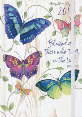 Blessed Are Those Who Trust,2018-2019 18-Month Perfect Planner  -     By: Sandy Clough