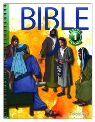 Bible: Grade 1 Teacher Textbook (3rd Edition)  -