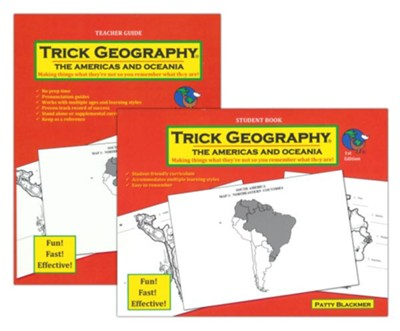 Trick Geography: Americas and Oceania Set   -     By: Patty Blackmer