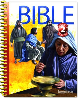 Bible: Grade 2 Teacher Textbook (3rd Edition)  -