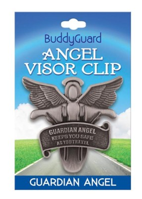 Angel's Guardian Angel Visor Clip  -