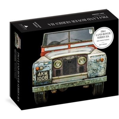 1964 Land Rover Series IIA Puzzle, 500 Pieces  -     By: Matt Hranek