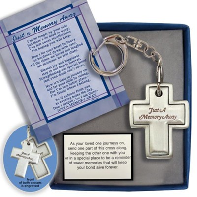 Cross, Just a Memory Away, Keychain  -