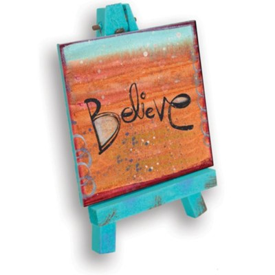 Believe Mini Plaque  -