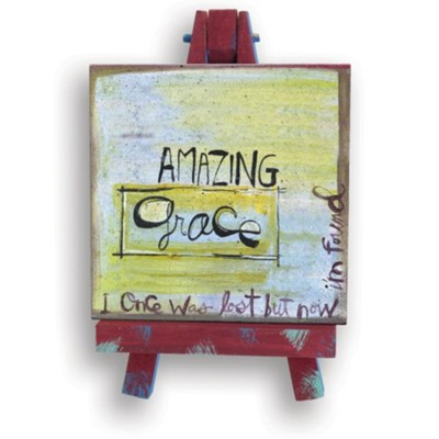 Amazing Grace Mini Plaque  -