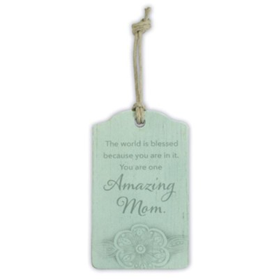 Amazing Mom Gift Tag  -