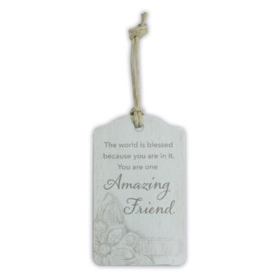 Amazing Friend Gift Tag  -