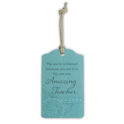 Amazing Teacher Gift Tag  -