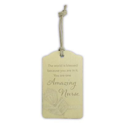 Amazing Nurse Gift Tag  -