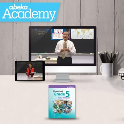 Abeka Academy Grade 5 Tuition Only Enrollment     -     By: Abeka
