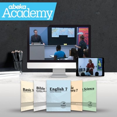 Abeka Academy Grade 7 Tuition Only Enrollment     -     By: Abeka