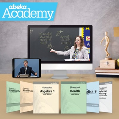 Abeka Academy Grade 9 Tuition Only Enrollment     -     By: Abeka