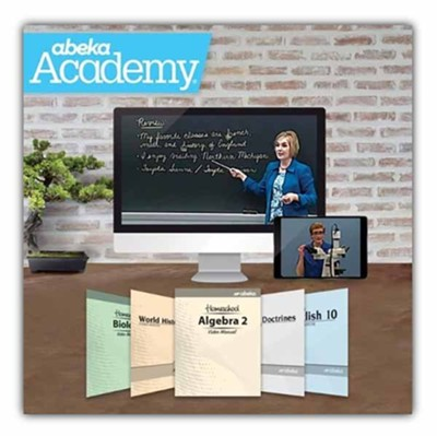 Abeka Academy Grade 10 Tuition Only Enrollment     -     By: Abeka