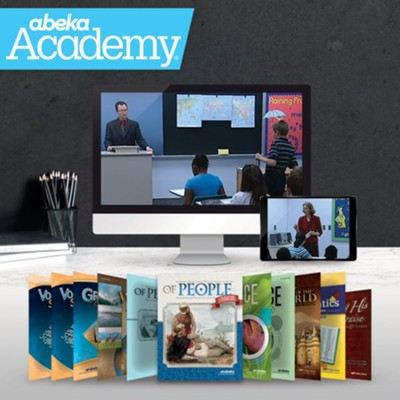 Abeka Academy Grade 7 Tuition and Books Enrollment     -     By: Abeka