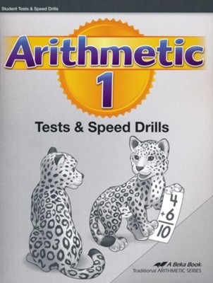 Arithmetic 1 Tests and Speed Drills Book (Unbound  Edition)  -