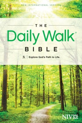 The Daily Walk Bible NIV - eBook  -     By: Tyndale