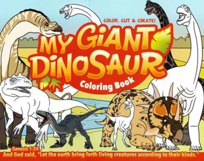 My Giant Dinosaur Fun Coloring Book: 9781626916296 - Christianbook.com