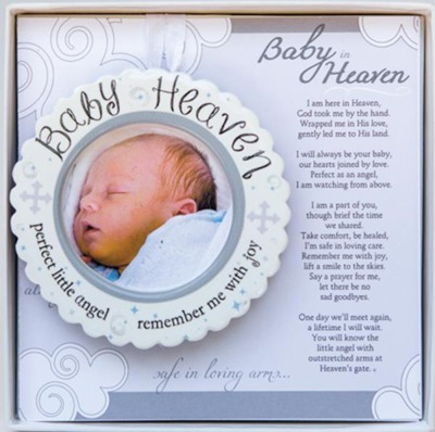 Baby Heaven Infant Loss or Miscarriage Memorial  -