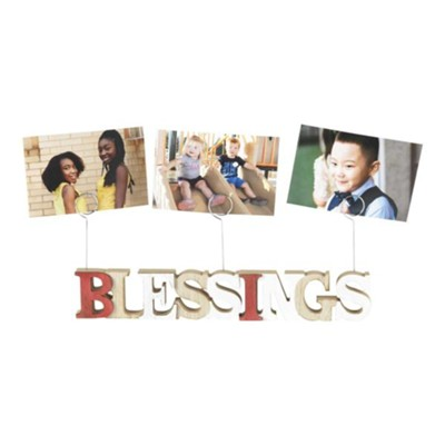 Blessings, Photo Clip Picture Holder  -