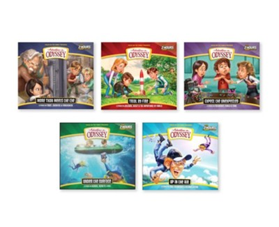 Adventures in Odyssey Audio 5 Pack, Volumes 63-67  -
