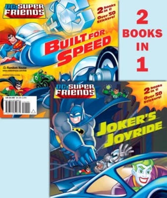 Joker's Joyride/Built for Speed (DC Super Friends) - eBook  -     By: Dennis Shealy