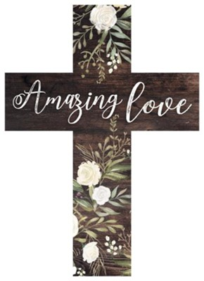 Amazing Love Wood Cross  -
