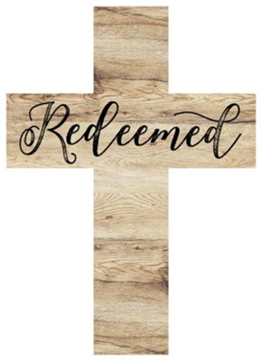 Redeemed Wood Cross  -