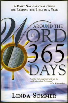 Around The Word In 365 Days: A Daily Navigation Guide for Reading the Bible in a Year - eBook  -     By: Linda Sommer
