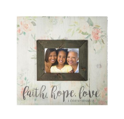 Faith Hope Love Photo  -