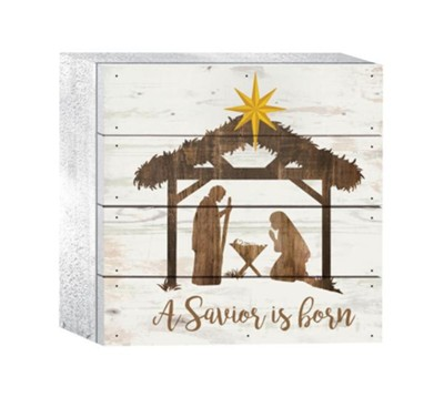 A Savior Is Born Box Art  -
