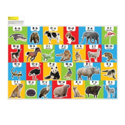 Animal Alphabet Floor Puzzle  -