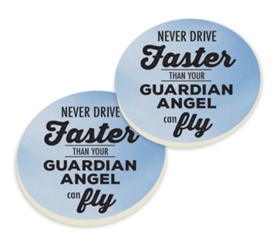Guardian Angel Car Coasters  -