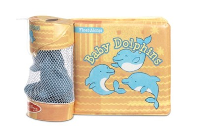 Baby Dolphins, Bath Book with Float Alongs  -