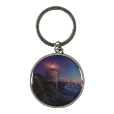 The Lord is My Light, Lighthouse, Keyring  -