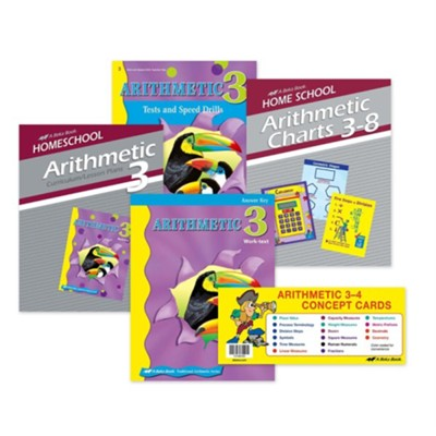 Abeka Grade 3 Arithmetic Parent Kit   -
