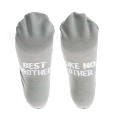 Best Brother Like No Other Socks  -     By: Man Made