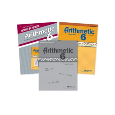 Abeka Grade 6 Arithmetic Parent Kit   -