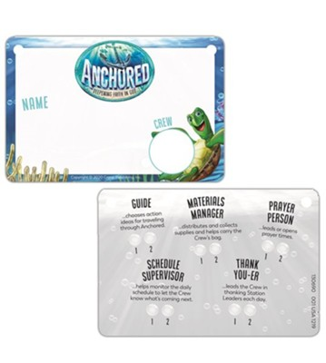 Anchored: Name Badges (pkg. of 10)  -