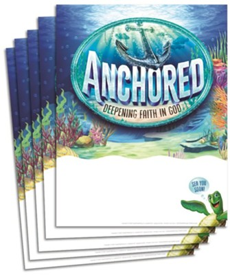 Anchored: Publicity Posters (pkg. of 5, 17 in. x 22 in.)  -