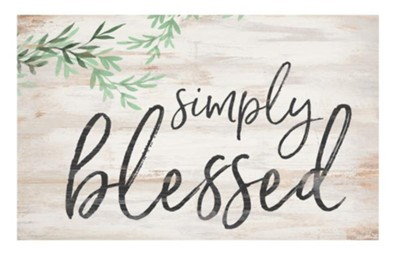 Simply Blessed Pallet Art  -