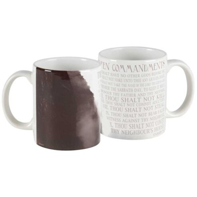 The Ten Commandments Mug  -