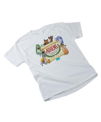 Athens: Adult T-Shirt, Large (42-44)  -