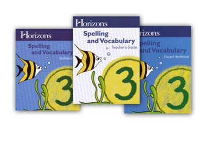 Horizons Spelling & Vocabulary Grade 3 Complete Set  -