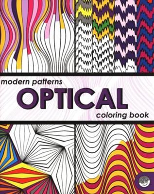 Modern Patterns: Optical Coloring Book: 9781933054254 ...