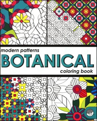 Modern Patterns: Botanical Coloring Book   -