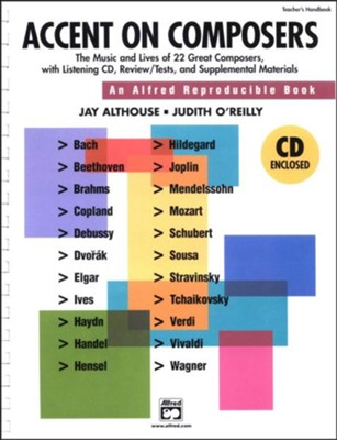 Accent on Composers, Book & CD   -     By: Jay Althouse, Judith O'Reilly