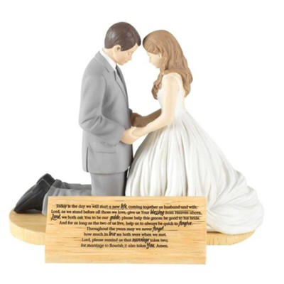 Hear Our Prayer Bride and Groom Figurine  -