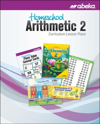 Homeschool Arithmetic 2 Curriculum Lesson Plans   -