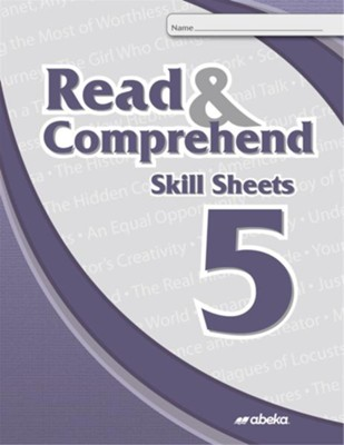Read and Comprehend 5 Skill Sheets (Unbound Edition)   -
