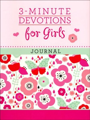 3-Minute Devotions for Girls Journal  -     By: Janice Thompson